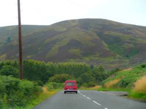 driving through the Scottish Borders