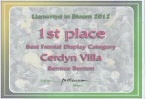 Berni wins Best Frontal display gfwah gfwah!!!