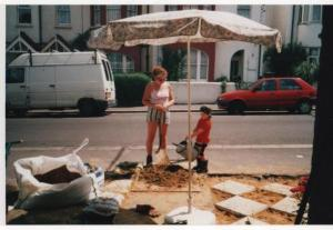 If you remember a program called Ground Force - it was inspirational to me - i used to draw quite a crowd whilst laying that patio
