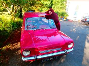 Ffloyd and I will be on the 2014 Pink Car Rally raising money for The Little Princess Trust