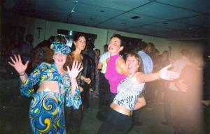 Sam's hen party - hippy chicks
