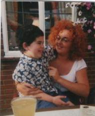 Marigold Hair - not back combed but sure looks it Aug 2002 at The Raven in Hexton