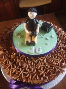 Cake by Penny Lowe of Top Tier Cakes
