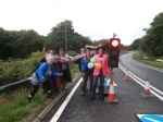 raising awareness of the 2 year anniversary of the temporary lights