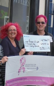 """John went pink after I hit the £1000 mark but vowed """"no bleach ever again"""""""