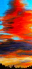 Tangerine Dream - Acrylic on Canvas