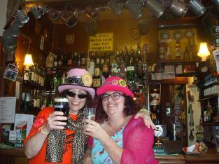 cheers - Loony sistas at Loony H/Q