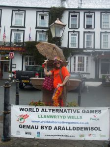 THe Lord's Drummer's Daughter supporting the World Alternative Games