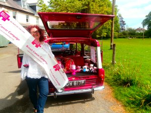 Ffloyd goes Simply Pink at Beaulieu for Breast Cancer Campaign