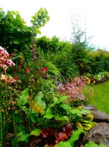 painti g a garden