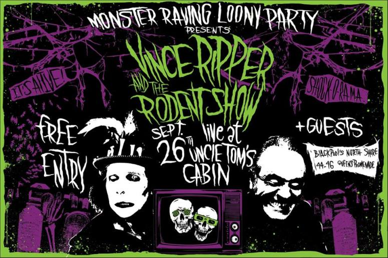 Vince the Ripper and The Rodent Show
