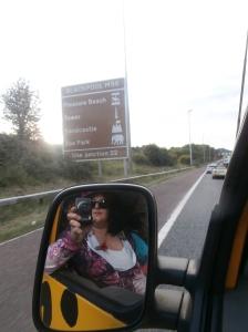 Arriving in Blackpool