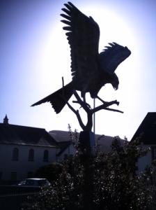 Red Kite Statue