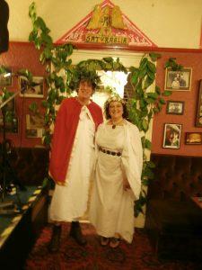 saturnalia roman feast neaudd arms hotel llanwrtyd