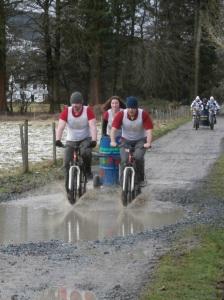 green events mountain bike chariot racing 2017 llanwrtyd