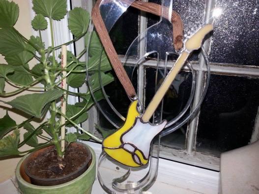 fender replica of musicians own guitar