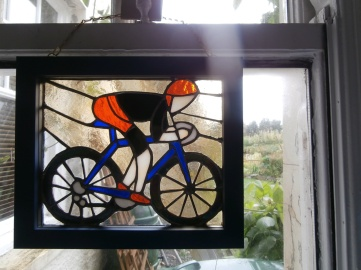 mountain biker - commission piece 50th birthday gift