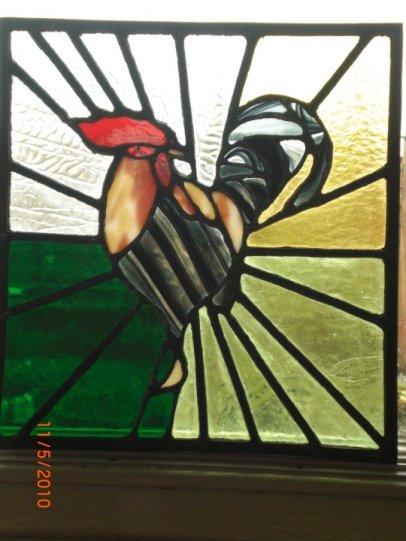 cockerel - front door panel