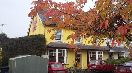Cerdyn Villa Guesthouse, BnB, Bed and Breakfast, Llanwrtyd Wells, Powys, Wales, accommodation - Autumn